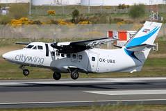 OK-UBA_12 (GH@BHD) Tags: okuba let let410 l410 turbolet vanaireurope citywing bhd egac belfastcityairport turboprop airliner aircraft aviation