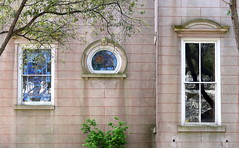 Gallery:  Wentworth Street, Charleston, SC (Spencer Means) Tags: architecture wentworth street 73 rutledge avenue harlestonvillage charleston sc southcarolina stained glass reflection