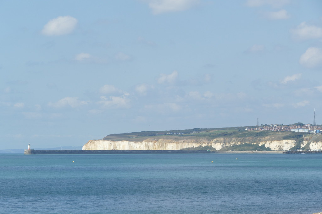 Newhaven From Seaford Beach