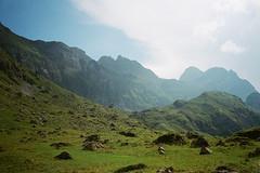 Meglisalp 1 (maxlabor) Tags: 35mmfilm alpen alpine alps alpstein appenzell appenzellinnerrhoden easternswitzerland iso800 kodak kodakfilm meglisalp ostschweiz portra800 schweiz schwende schwendetal seealpsee suisse svizzera switzerland weissbad yashicat4super analogphotography analoguephotography film negativefilm wandern wanderung