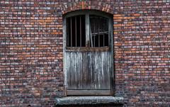 2018 - Belgium - Gent - Doorish (Ted's photos - Returns Late November) Tags: 2018 belgium cropped ghent nikon nikond750 nikonfx tedmcgrath tedsphotos vignetting brickwall brick door doorway arch