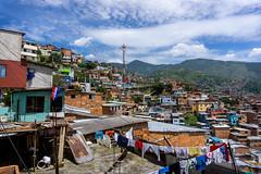 View of Comuna 13 (doug.barnard) Tags: comuna13 medellin colombia southamerica landscape comuna travel travelphotography