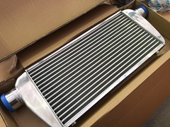 Front mount intercooler for MPS6 (andrew edgar .......) Tags: mazda mps6 turbo zoom car blacktown sydney front mount box intercooler
