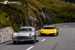 Mercedes 300SL & Lamborghini Huracan Performante (Kyter MC) Tags: europe kyter sony a7iii sk ks photography automotive wwwphotosautomobilescom 2018 suisse andermatt supercarsownercircle supercars ultracars mercedes 300sl lamborghini huracan performante