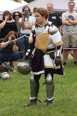 The Mysterious Knight Revealed (Itinerant Wanderer) Tags: pennsylvania buckscounty wrightstown villagerenaissancefaire