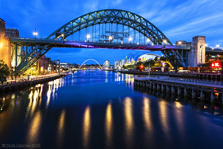 Blue Hour on The Quayside
