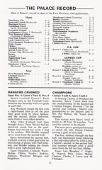 Tottenham Hotspur vs Crystal Palace - 1971 - Page 13 (The Sky Strikers) Tags: tottenham hotspur spurs hotspurs crystal palace football league division one white hart lane official programme 5p