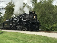 (primemover88) Tags: cuyahoga valley scenic railroad nickle plate nkp 765 steam passenger train