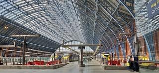St Pancras International Railway Station. London. UK