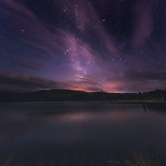 Magical night (JH') Tags: water wideangel explore trees tamron outdoor outdoors photoshoot photography sky summer sweden stars d850 forest field heaven landscape longexposure lake clouds colors beautiful nature naturephotograph night nikond850 mountain