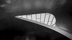 organic... (Blende1.8) Tags: arnheim arnhem station bahnhof roof ceiling decke line lines linie linien architecture architektur mono monochrome monochrom schwarzweiss schwarzweis black white urban window fenster sony alpha ilce7m2 voigtländer voigtlaender 15mm wideangle a7m2 a7ii carstenheyer netherlands niederlande modeern modern contemporary superwideheliariii