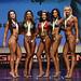 Bikini D 4th Harris 2nd Tonge 1st Hellier 3rd Bakshi 5th Watts