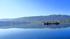Osfjord i Etnefjorden 29. mai -18 (bjarne.stokke) Tags: etnefjorden hordaland speiling reflections motlys norway norge norwegen
