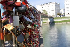 096 (Owl Fotografie) Tags: river water love colors salzburg bridge lock
