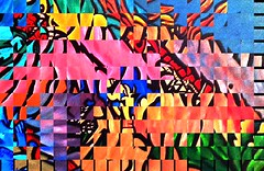 Segments of Creation (ColFineArtistMar1) Tags: art artistic abstract altered colors contemporary distortion manipulated visual vivid vision