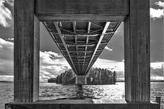 bridge to island (TeRo.A) Tags: silta bridge vääksy asikkala päijänne pulkkilanharju