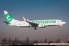 [ORY.2016] #Transavia #TO #Boeing #B737 #F-GZHP #awp (CHR / AeroWorldpictures Team) Tags: transavia france boeing b737800 cn 44566 5345 reg fgzhp eng cfm567 history aircraft mar2015 built site renton rnt wa usa delivered transaviafrance to tvf cabin config y189 plane aircrafts airplane b737 b738 landing paris orly ory lfpo airport french airlines nikon d300s nikkor 70300vr raw lightroom aeroworldpictures chr 2016