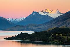 Mountain Sunrise - Lake Wakatipu, New Zealand (Nomadic Vision Photography) Tags: newzealand queenstown southisland travel lakewakatipu mountains sunrise