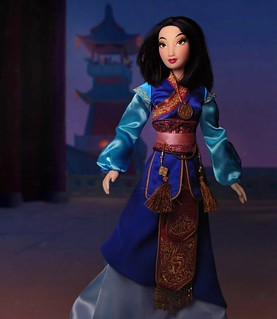 Mulan LE doll - Movie accurate edition