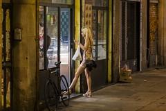 heading towards a night time snack (charlesgyoung) Tags: barcelona spain charlesyoung nikon nikonphotography nikondx travelphotography streetphotography