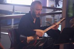 Suna Alan (2018) 03 - saz player (KM's Live Music shots) Tags: worldmusic turkey traditionalturkishmusic traditionalkurdishmusic huseyinkaplan sunaalan baglamaturkish saz womeninmusic fridaytonic southbankcentre