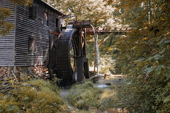 Hagood Grist Mill II - 1845 (rschnaible (On Holiday)) Tags: hagood grist mill pickens county the south carolina work production hydro power water wheel old history historical circa 1845 building architecture