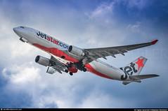 [KIX.2013] #Jetstar.Airways #JQ #Airbus #A330 #VH-EBJ #awp (CHRISTELER / AeroWorldpictures Team) Tags: jetstar airways airbus a330200 cn 940 eng 2x cf680 reg vhebj history aircraft first flight test fwwkl built site toulouse lfbo france delivered qantas qf qfa named margaretriver cabin config c38y265 tsf jestarairways jq jst return a330 a332 plane aircrafts airplanes australia aus osaka kansai kix japan planespotting 2013 awp aeroworldpictures nikon d300s zoomlenses 70300vr raw lightroom rjbb lowcost
