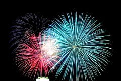 Fireworks show. (Photolove2017) Tags: fireworks d3100 nikondx nikon night nepean interprovincial sound light casino lac leamy competition tiaphoto tourism festival photolove2018 city canada ottawagatineau