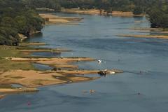 La Loire depuis Champtoceaux, Maine et Loire. (AnneHu) Tags: loire rivièrefrance bancsdesable champtoceaux maineloire paysdelaloire riverloire