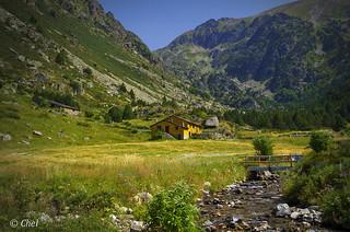 La casita en la montaña