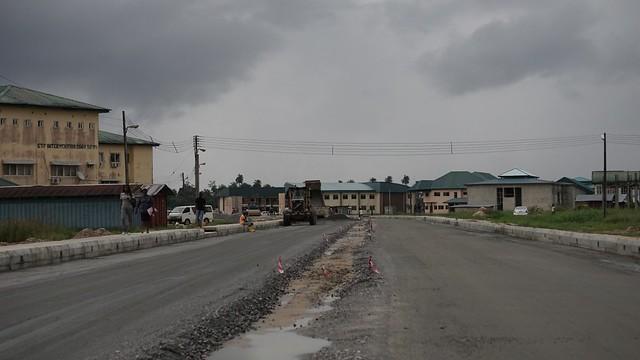 HSDickson- Project Inspection To senate building in Niger Delta Universities.