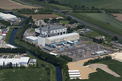 Photo of Spalding power station - aerial
