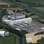 Spalding power station - aerial thumbnail