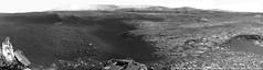 Hills in sight - sol 2163 (Thomas Appéré) Tags: mars planet astronomy astronomie géologie geology rover exploration msl curiosity robot technologie technology hill colline mountain montagne crater cratère