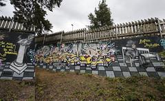 Pispala (Thomas_Chrome) Tags: graffiti streetart street art spray can wall walls fame gallery hof pispala tampere suomi finland europe nordic