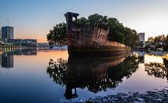 SS Ayrfield Shipwreck (StefanKleynhans) Tags: shipwreck sydney nsw nikon d800e sunrise harbour river australia nikon1635mmf4 nikond800e