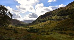 Highlands (last photo for a while Internet too slow for Flickr) (Phil-Gregory) Tags: bridge highlands scotland clouds viaduct nikon d7200 tokina1120mmatx tokina wideangle ultrawide light scenicsnotjustlandscapes landscapes national naturalphotography naturephotography countrylife countryside valley
