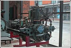 Early Rolls-Royce Engine (zweiblumen) Tags: scienceandindustrymuseum museumofscienceandindustry rollsroyce engine vintage veteran manchester greatermanchester england uk hdr canoneos50d polariser zweiblumen