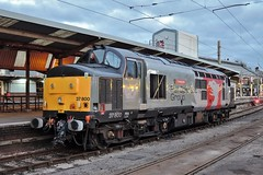 37800 (Down to nowhere) Tags: class37 cassiopeia coco englishelectric englishelectrictype3 ee europhoenix preston prestonstation 37800 westcoastmainline wcml