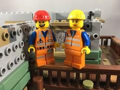 2018-264 - National Tradesmen Day (Steve Schar) Tags: 2018 wisconsin sunprairie iphone iphone6s project365 lego minifigure emmet build builder masterbuilder construction nationaltradesmenday