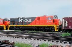 NdeM C30-7 6795 (Chuck Zeiler) Tags: ndem c307 6795 railroad ge locomotive clyde train chuckzeiler chz