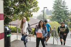 First Day of class (Humboldt State University) Tags: humboldtstateuniversity humboldt college arcata california humboldtcounty northerncalifornia csu campus university hsu humboldtstate stul0820180011 firstday founders stairs