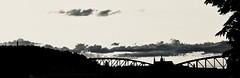 Sunset (katerina_friheten) Tags: bw prague city bridge sunset