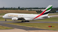 A6-EUX (hartlandmartin) Tags: a6eux emiratesairbus a380800 bhx egbb birmingham elmdon landing aircraft airline airport aeroplane jet flight aviation plane transport nikon d7200 70300afp