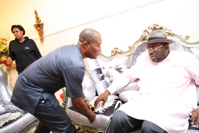 HSDickson- Condolence visit to HIS Excellency by PDP Mobilization Network. 24th August 2018