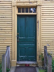 Strawberry Banke green door (Explored 9/3/18) (peppermcc) Tags: