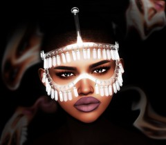 Lights & Shadows (SueGeeli DeCuir) Tags: cinphul headaccessory jewelry thechapterfour kosmetik lipapplier themakeoverroom genusproject cerberusxing secondlife virtualworld blogger blog styleitup styleitupsl