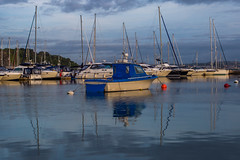 Morning moored boats (Steve M Photography) Tags: brixham devon seascape seaside port harbour england resort vacation southcoast torbay coastal boats nautical sea sailing waterreflections