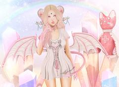 Candy Demon (Gabriella Marshdevil ~ Trying to catch up!) Tags: sl secondlife cute kawaii doll demon succubus taketomi sweetthing lagom halfdeer cubiccherry tsg