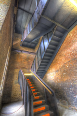 Coppermill Tower Stairs - Walthamstow Wetlands (ArtGordon1) Tags: walthamstowwetlands coppermilltower stairs steelstairs london england uk september autumn 2018 davegordon davidgordon daveartgordon davidagordon daveagordon artgordon1
